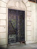 """Baby Jane's wrought iron entry doors on the set of """"Fued"""""""
