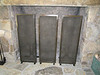 Fireplace screens - Braun residence
