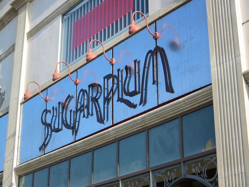 Sugar Plum Bakery sign - Los Angeles, CA