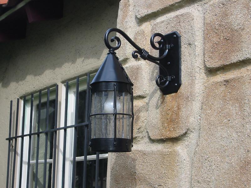 Lamp restoration - Silton Residence, Los Angeles, CA