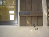 Close-up of Shutter Hardware - Levy residence, Pasadena, CA