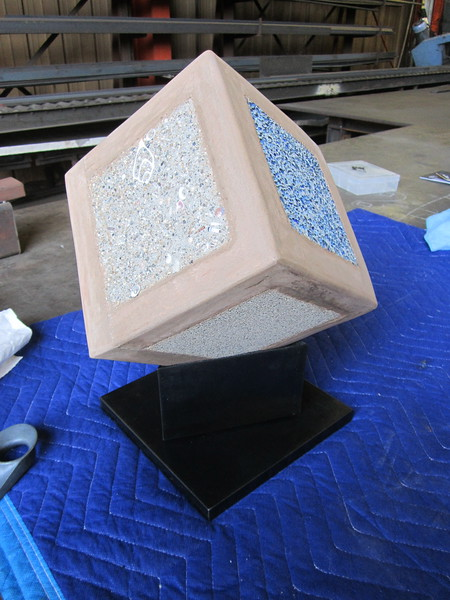 Pedestal for stone structure
