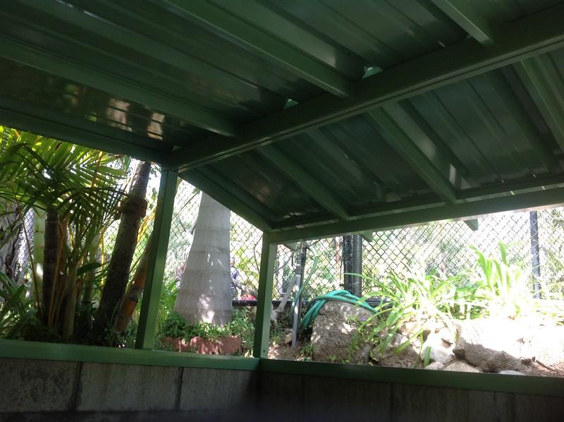 Pool Equipment Cover; Cressie residence, Altadena, CA