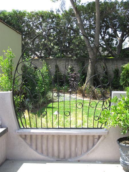 Art deco wall grill - Sniesko residence, Pasadena, CA