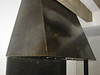Blued steel and waxed stove hood - King residence, Pasadena, CA
