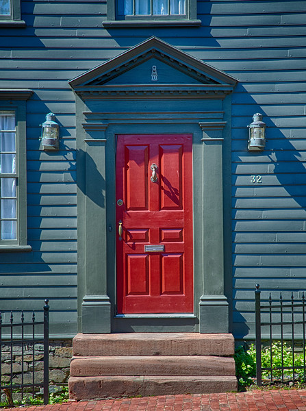 Door on Church Street, Newport Rhode Island