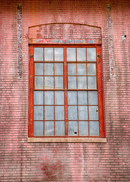Window at Bethlehem Steel