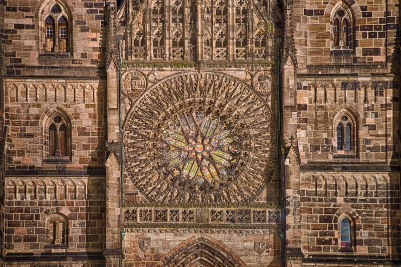 St. Laurenz Rose Window