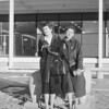 Marian and Dorothy at AFA Post Exchange, Nov 1958