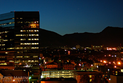 Night shot in Salt Lake City, Utah -- DSC_0136