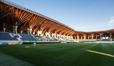 Pancho Arena by Tamás Dobrosi, Doparum Architects