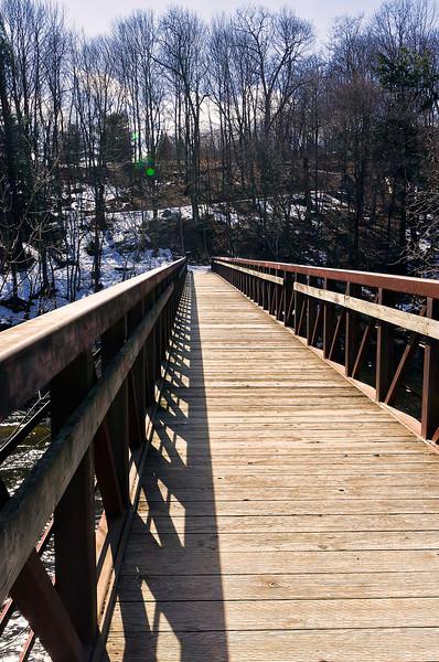Kenduskeag Foot Bridge, Bangor, ME