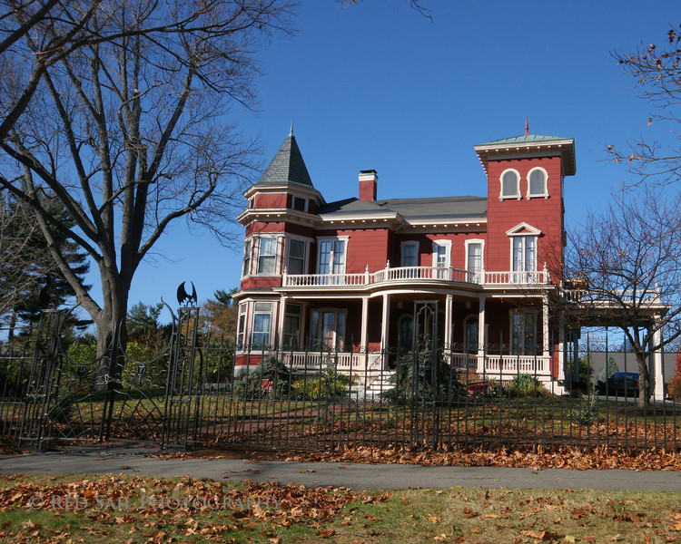 This is the home of Author, Stephen King. Bangor, Maine