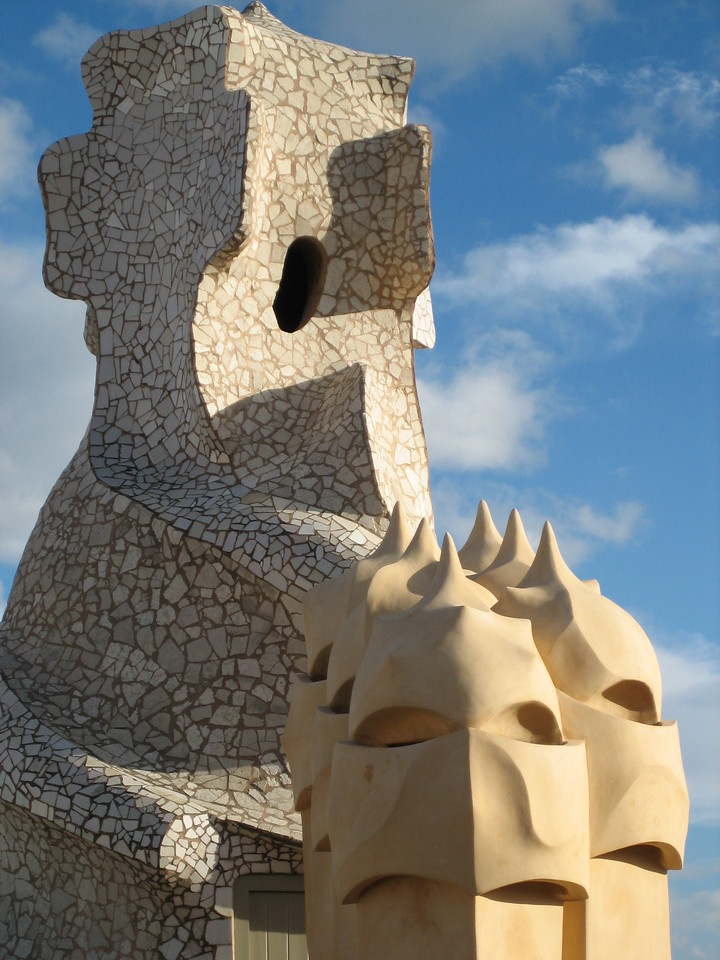 Chimnee at la pedrera