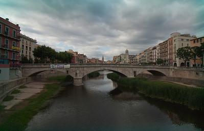 Girona bridge.