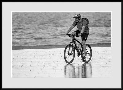 Biking bei Regen