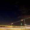Heathrow Airport Light Trails