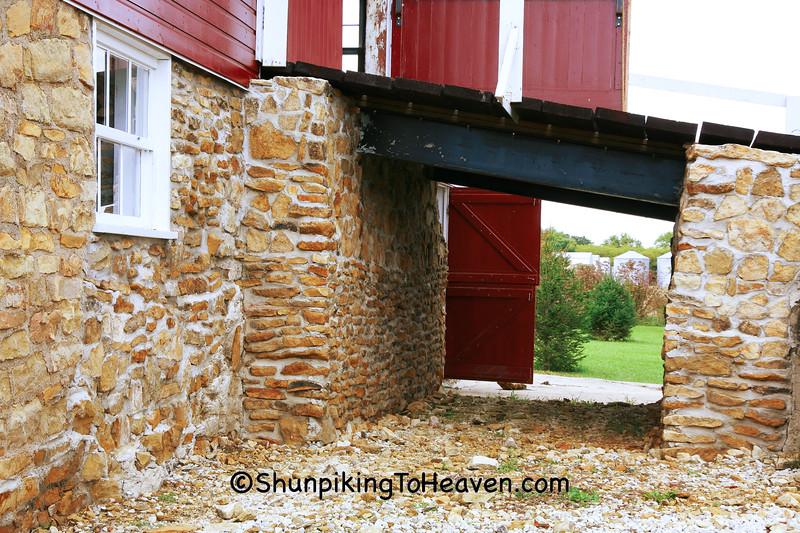 Barn Bridge of Handsaker Barn, Story County, Iowa