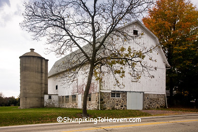 Barn and Silo, Jefferson County, Wisconsin