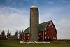 Large Red Barn, Chickasaw County, Iowa