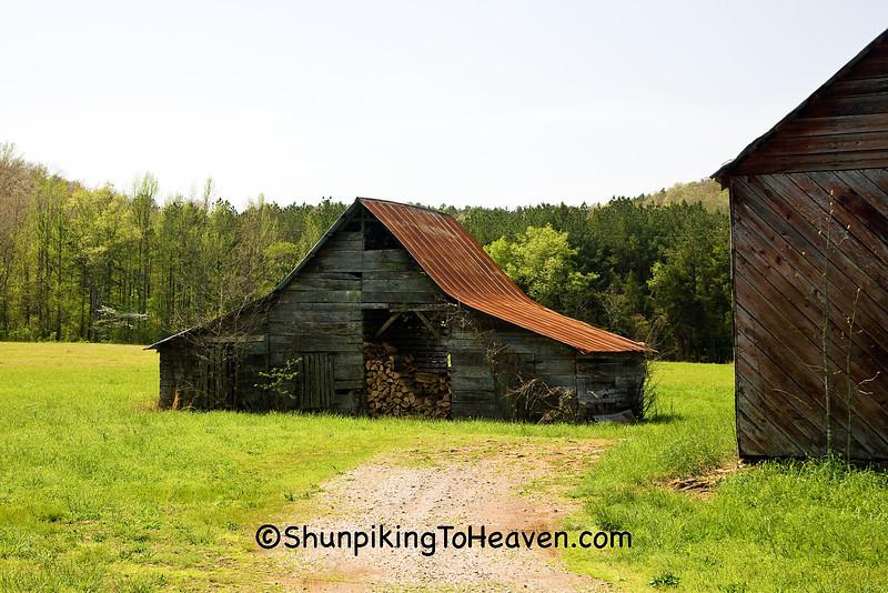 Gray Barn, Johnson County, Arkansas