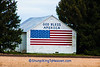 Patriotic Barn, Starke County, Indiana
