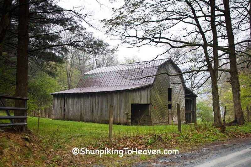 Gambrel-Roof Barn,  Watauga County, North Carolina