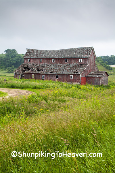 Dilapidated Barn, Lafayette County, Wisconsin