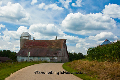 Farm on Rustic Road, Vernon County, Wisconsin