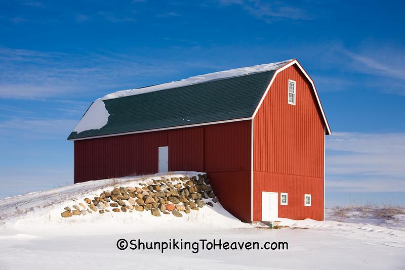 Replica of a 1920s Era Barn, Dane County, Wisconsin