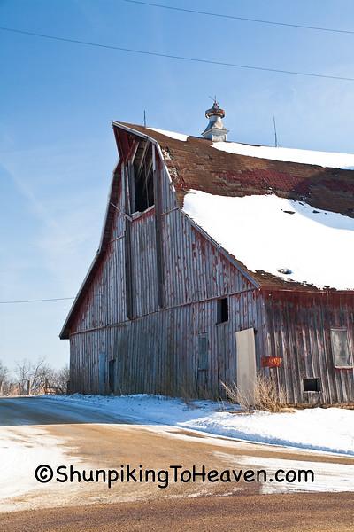 Barn on Rustic Road, Vernon County, Wisconsin