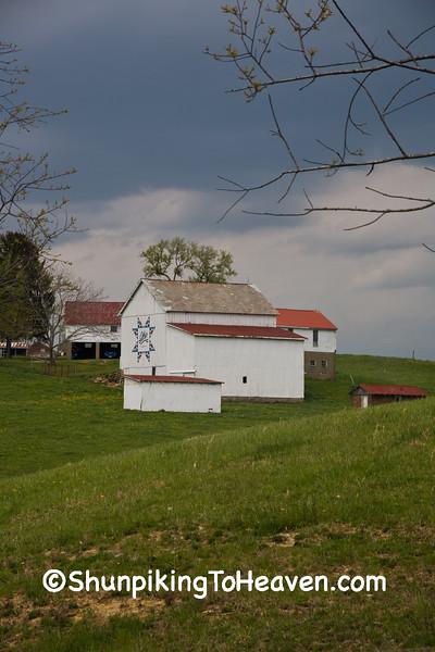 Bicentennial Quilt Barn, Belmont County, Ohio