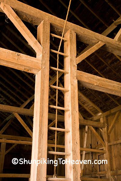 Hay Mow Ladder, Villebro Barn, Stephenson County, Illinois