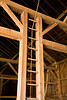 Hay Mow Ladder, Villebro Barn, Stephenson County, Illinois
