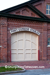Pony Express Stables, St. Joseph, Missouri