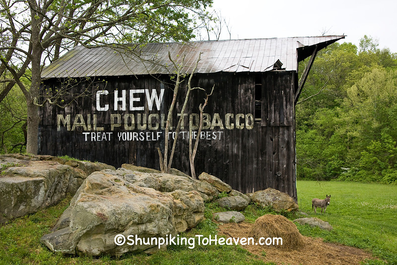 Mail Pouch Barn, Carter County, Kentucky