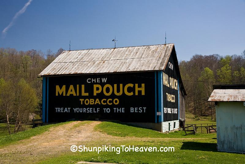 Refurbished Mail Pouch Tobacco Barn, Washington County, Ohio