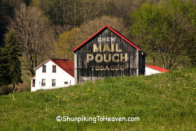 Mail Pouch Tobacco Barn, Muskingum County, Ohio