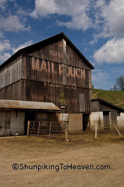 Mail Pouch Tobacco Barn, Guernsey County, Ohio