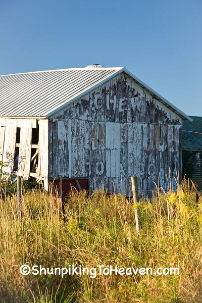 Mail Pouch Tobacco Barn, Dane County, Wisconsin