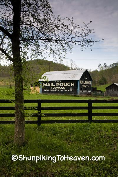 Mail Pouch Tobacco Barn, Scioto County, Ohio