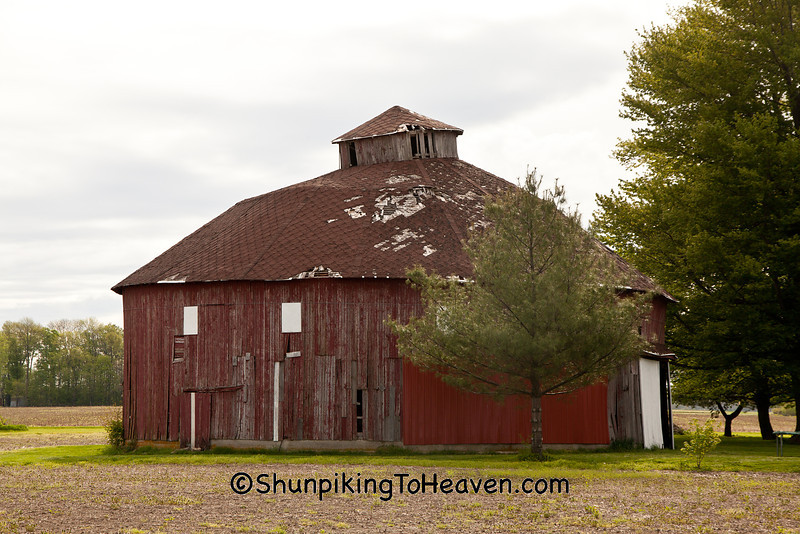Round Barn, Madison County, Indiana
