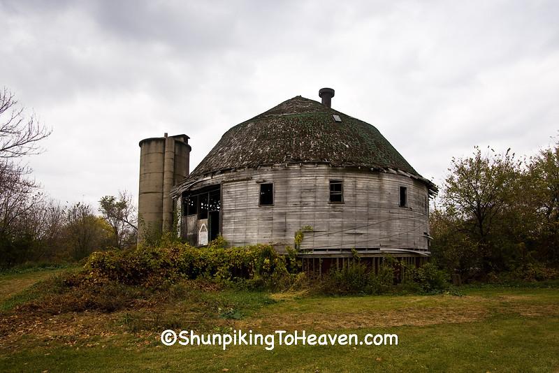 The Dougan Round Barn, Rock County, Wisconsin