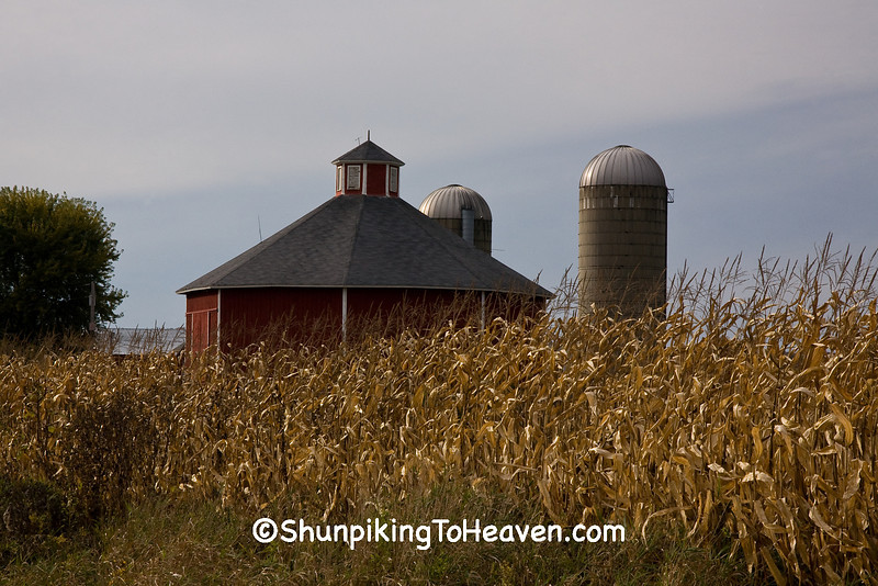 Octagon Barn, Sauk County, Wisconsin