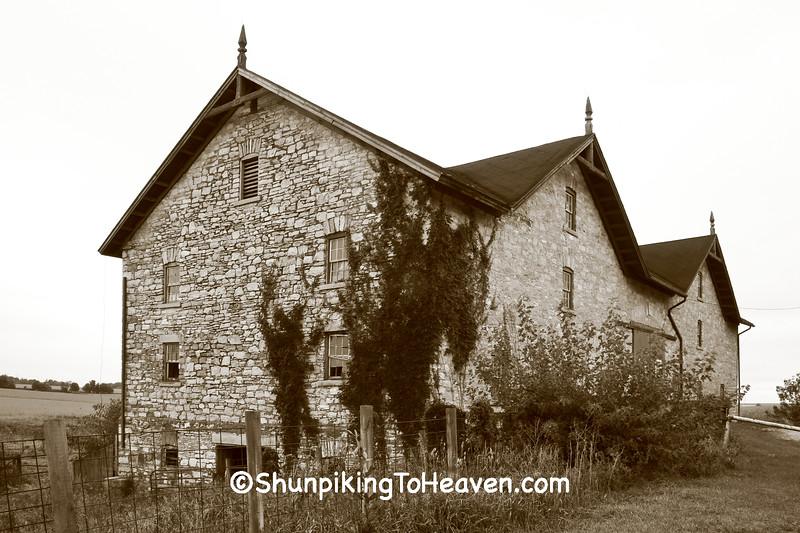 Fields Stone Barn, Black Hawk County, Iowa