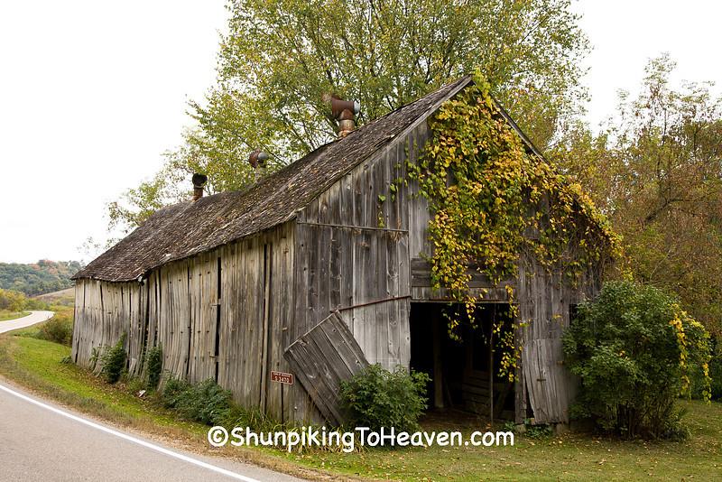 Abandoned Tobacco Barn, Vernon County, Wisconsin