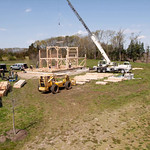Barn Raising Time Lapse :