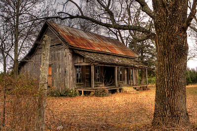 Dog Trot House, Guy, AR