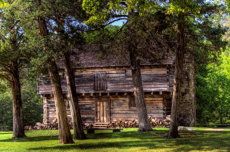 Cadron Settlement Blockhouse, Conway, AR