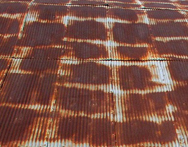 Metal roof - near Galena